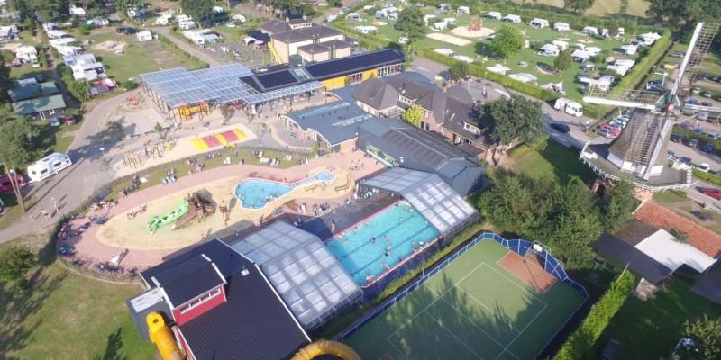 Foto uit de lucht (Camping de Molenhof)